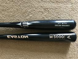 3 Adult wood baseball bats, Rawlings, Easton