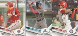 2017 TOPPS PRO DEBUT BASEBALL BASE CARDS U-PICK COMPLETE YOU