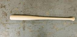 "34"" Wood Baseball Bat Craft Quality Blem"