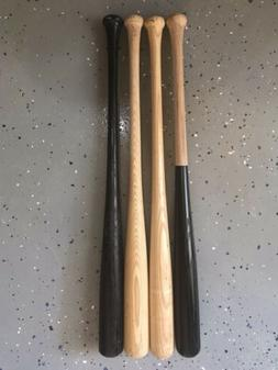 "4 Pack 33"" Ash Game Ready-Cupped-Wood Blem Baseball Bats"