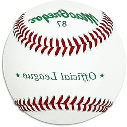 MacGregor 87 Official Split Baseball, Leather