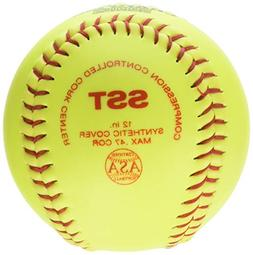 Wilson A9106 ASA Series Softball , 12-Inch, Optic Yellow