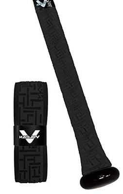 VULCAN ADVANCED POLYMER BAT GRIPS - LIGHT 1.00 MM - BLACK