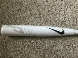 Nike Aero MC2 34/31 BBCOR Cert .50 Baseball Bat - White