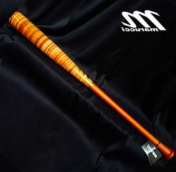 "POSEY28 Custom Pro Maple Baseball Bat, Walnut/Inferno 33"" /"