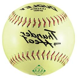 Dudley ASA Thunder Heat Slow Pitch Leather Ball - Size 12 -