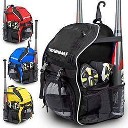 DashSport Baseball Bag Softball Backpack Bat Bag for Youth a