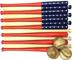 Baseball Bat American Flag 18in bats