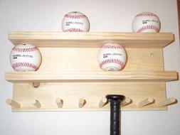 baseball bat rack display case