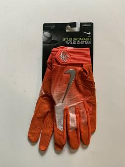 Nike Baseball Huarache Elite Batting Gloves PGB543-864 Orang