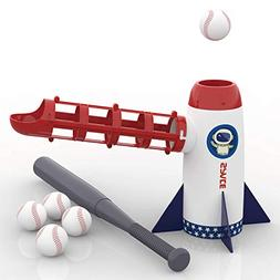 iPlay, iLearn Backyard Baseball Pitching Machine Toys, Train