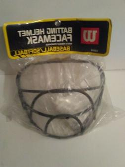 Wilson Batting Helmet Facemask A3059 Softball baseball with