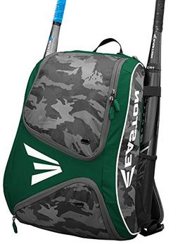 Easton E110BP Green / Camo Bat Pack Backpack Equipment Bag B