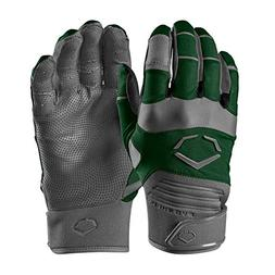 EvoShield Evo Aggressor Youth Batting Gloves Color: Dark Gre
