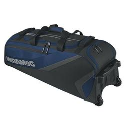 DeMarini Grind Wheeled Bag, Navy