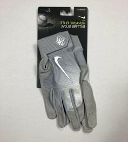 Nike HUARACHE ELITE Baseball Batting Gloves Gray PGB543 073