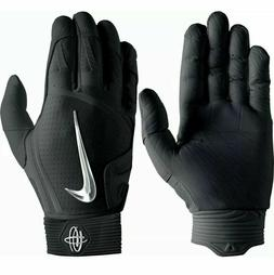 Nike Huarache Elite Baseball Batting Gloves Mens Size XL Bla