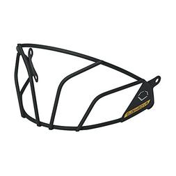 EvoShield Impact Facemask & Chinstrap - Black, One Size