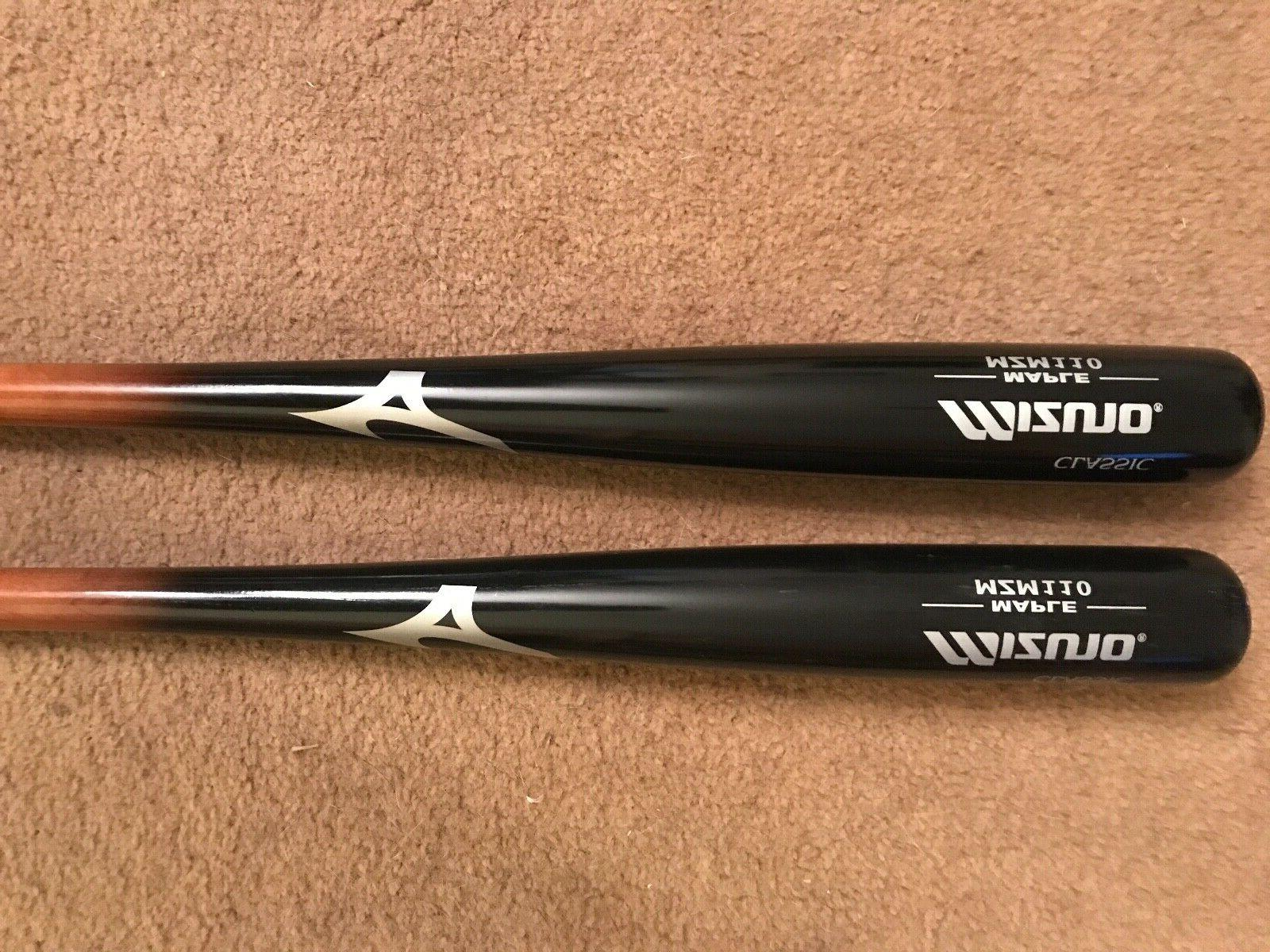 2 mzm110 maple baseball bats