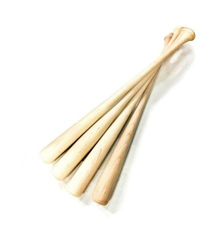 4 game ready wooden blem baseball bats