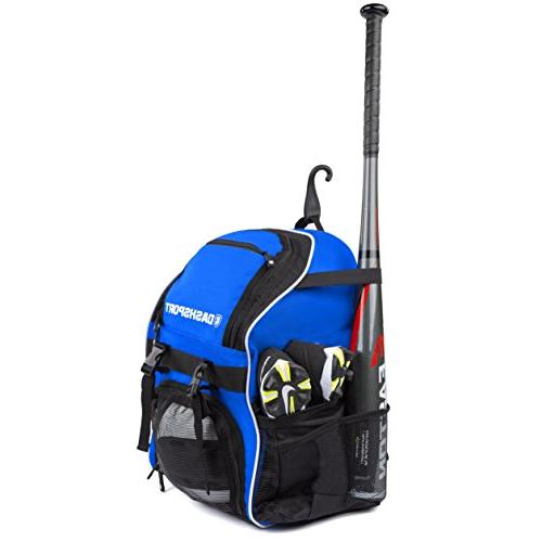 DashSport Backpack Bat Youth Kids T-Ball and Softball Bag for Girls Boys |