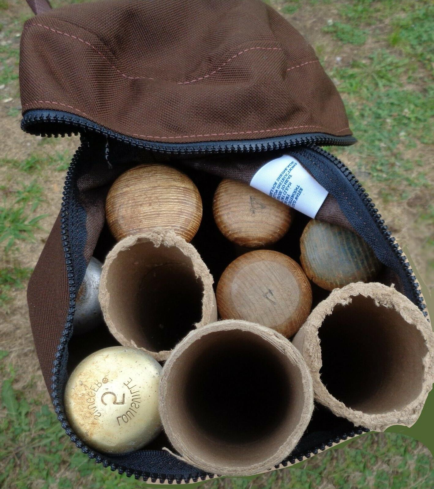 BASEBALL WITH ZIPPER 9 BATS - BY CHAG NY BROWN