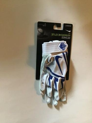 nike baseball batting gloves HUARACHE ELITE UK size SMALL