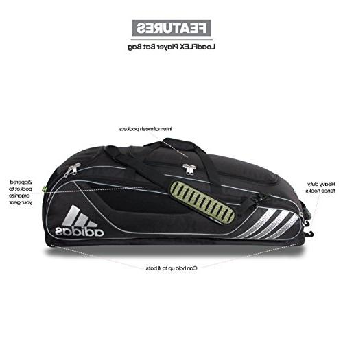 adidas Player Bag, Black,