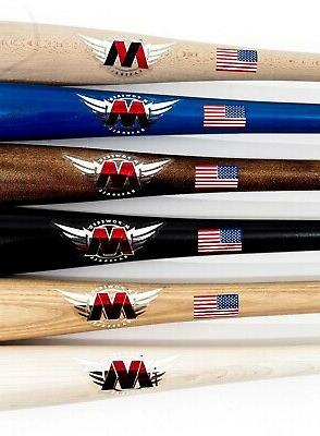 M^POWERED BASEBALL LABEL CUSTOM BATS BUY 1 FREE!