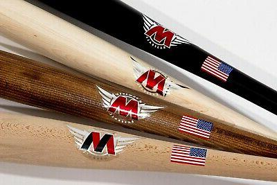 m powered baseball red label custom finished