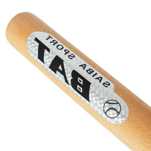 Solid Wood Baseball Bat Kids Bats