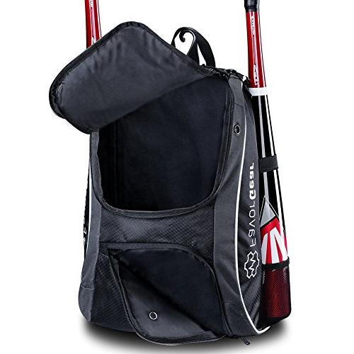 FAVORGEAR for Baseball T-Ball Softball Basketball, Sports Equipments for Youth, and Adults Fits Helmet, Batting Vented Compartment, Hook