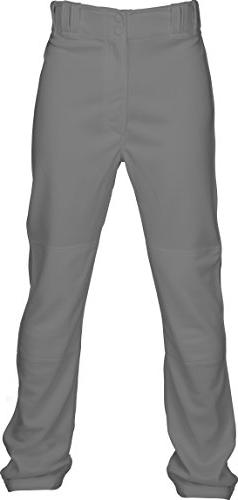 Marucci Youth Elite Double Knit Baseball Pant, Gray, Small