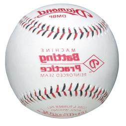 Diamond Machine Batting Practice Baseball with Flat Seams,