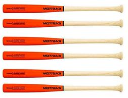 Easton Mako Ash Power Brigade Wood Bat ORANGE/NATURAL 33/30