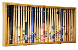"Mini Baseball Bat 18"" Shadow Box Display Case Holds 30 Mini"