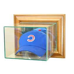 Perfect Cases MLB Wall Mounted Cap/Hat Glass Display Case, W