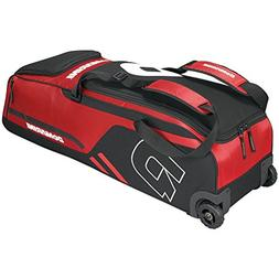 DeMarini Momentum Baseball/Softball Wheel Bag - Scarlet