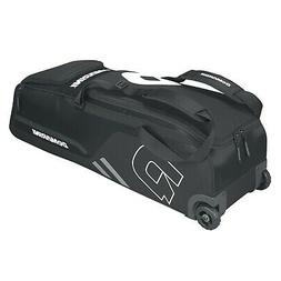 DeMarini Momentum Baseball Wheeled Bag-Black SKU: WTD9406BL