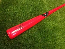 Sam Bat RB8 RED Maple Adult Pro Wood Baseball Bat 32 Inch