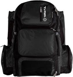 RIP-IT Pack-It-Up Softball Bat Backpack - Black