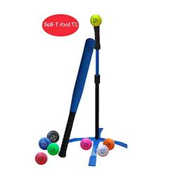 Macro Giant 27 Inch Safe T Ball, Tee Ball, T-Ball, 1 Blue Fo