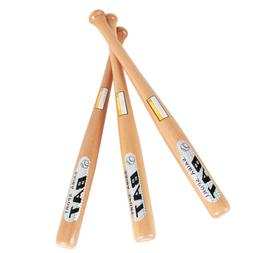 outdoor Sport Adult Solid Wooden Baseball Bat Softball Horni