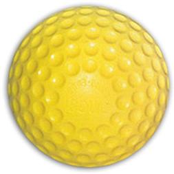 Jugs Sting Free Yellow Dimpled Pitching Machine Baseballs -