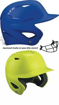 Wilson Superfit Baseball  Batting Helmet with facemask Size