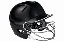 Easton Natural Tee Ball Batting Helmet with Mask, Black
