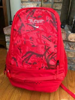 NIKE TROUT VAPOR BASEBALL BAT BACKPACK, RED CAMO, BA5436-657