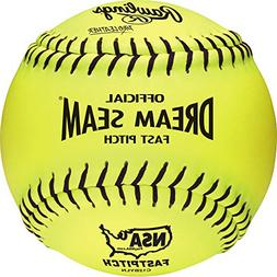 Rawlings USSSA Official 12-Inch Fastpitch Softballs, 12-Pack