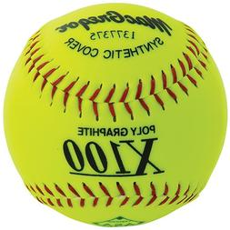 MacGregor X52RE ASA Slow Pitch Synthetic Softball, 12-Inch,