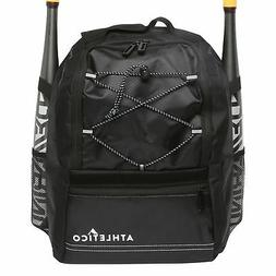 Athletico Youth Baseball Bat Bag - Backpack for Baseball, T-